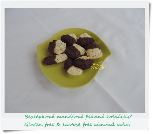 fúkané mandľové koláčiky