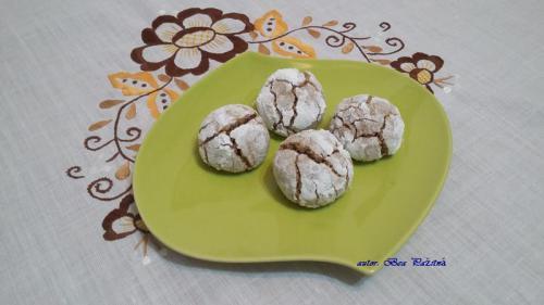 bezlepkové orechové crinkles