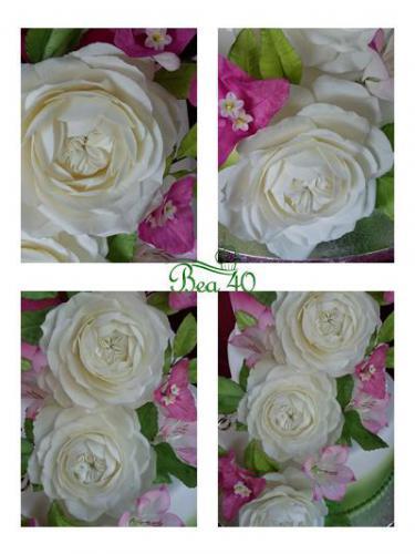 pohľadnica z kvetov