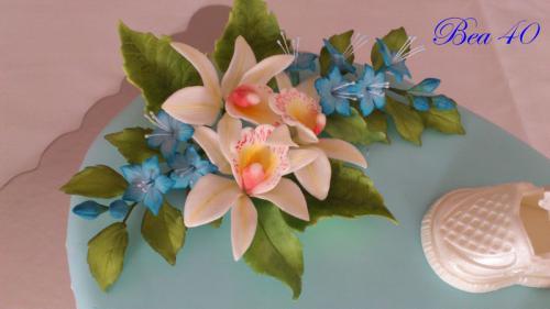 orchidee a drobné kvietka