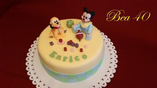 Mickey Mouse a Pluto