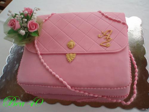 Ružová kabelka