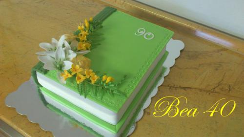 """Kniha """"90"""" zelená"""